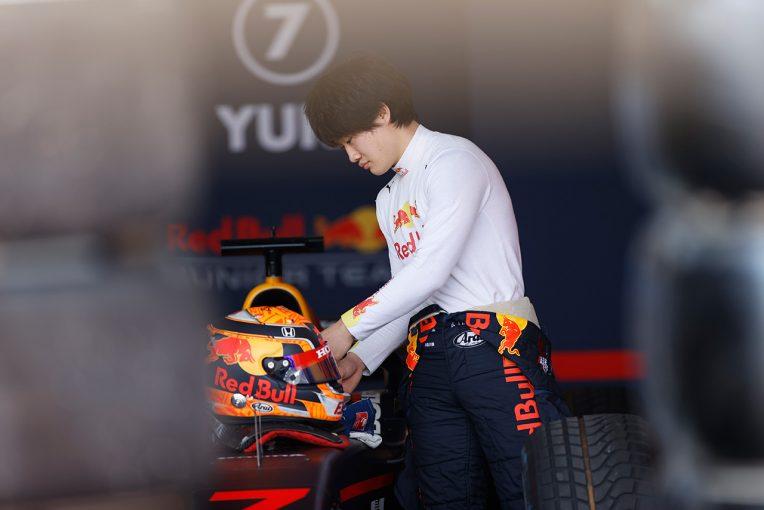 海外レース他   「ペースは本当に良かっただけに、悔しいレース」角田裕毅、接触によるパンクで痛恨の無得点/FIA-F2第11戦