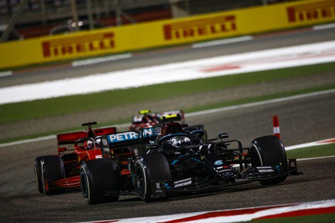 2020年F1第15戦バーレーンGP バルテリ・ボッタス(メルセデス)