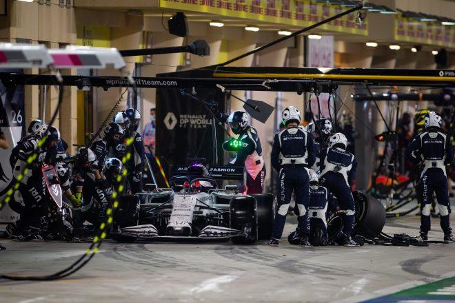 2020年F1第15戦バーレーンGP  ダニール・クビアト(アルファタウリ・ホンダ)