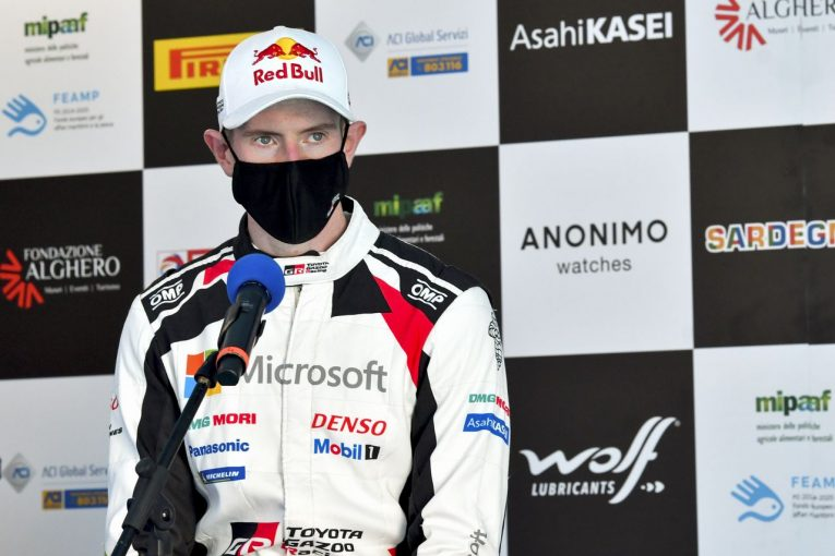ラリー/WRC | ランキング首位のエバンス「ヤリスがターマックで速いことは知っている」/2020WRC第7戦モンツァ 事前コメント