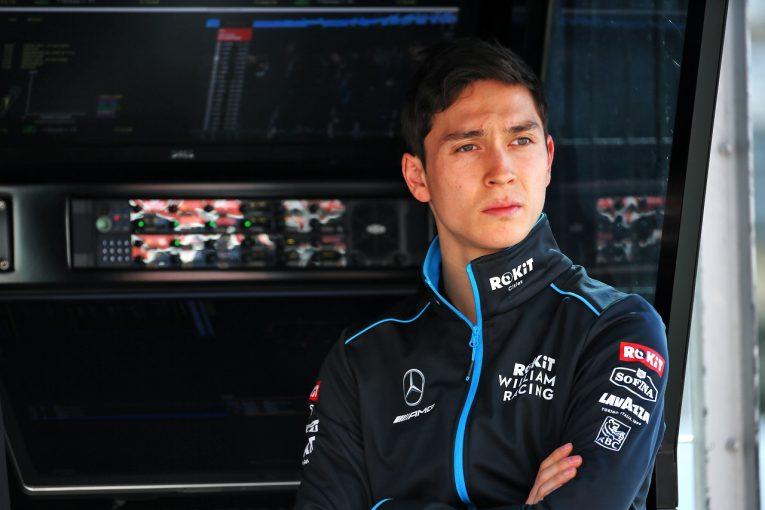 F1   突然F1デビュー決定のエイトケン「準備はできている。ウイリアムズが入賞を遂げられるよう、全力で貢献する」