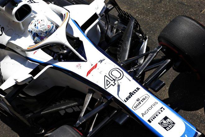 2020年第2戦シュタイアーマルクGPのFP1で走行したジャック・エイトケン(ウイリアムズ)