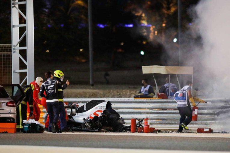 F1 | 【F1第15戦無線レビュー(1)】炎上するマシンに動揺するルクレール「なんてこった。神様、お願いだ」