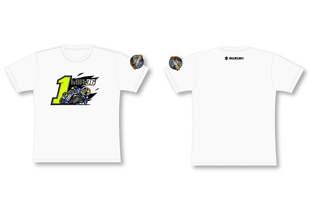 MotoGP:スズキ、 ジョアン・ミルのチャンピオングッズを12月3日から12月21日まで期間限定で販売
