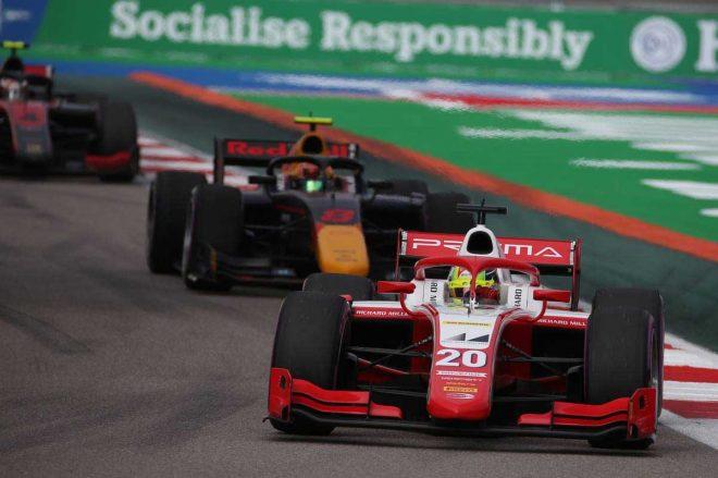 2020年FIA-F2ランキングトップで最終戦に臨むミック・シューマッハー