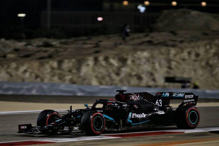 F1 | F1サクヒールGP FP2:ラッセルが初日トップタイム。僅差でフェルスタッペン、ペレスが続く