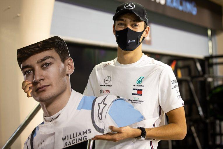 F1 | ハミルトンの代役ラッセル、初日両セッション首位も「実際は最速ではない」と改善誓う:メルセデス【F1第16戦】