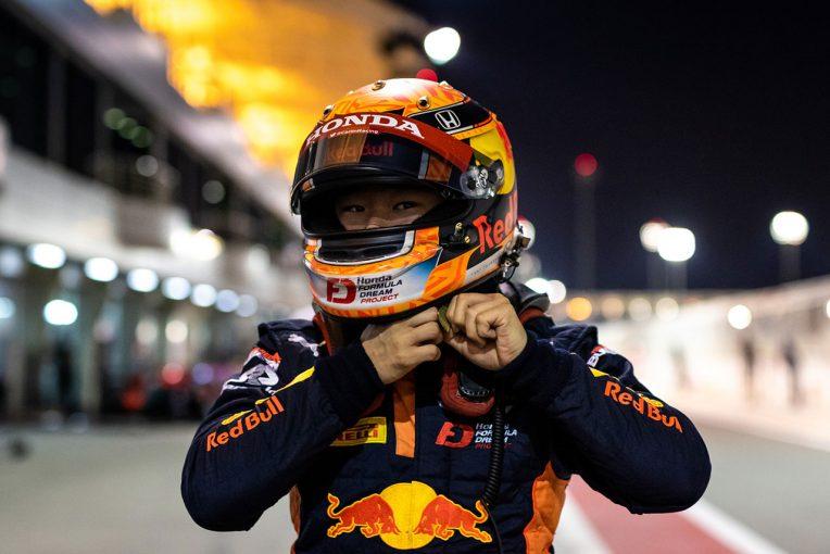 海外レース他 | 今季4度目のポールを獲得した角田裕毅「自分のプランに従ってレースに集中するだけ」/FIA-F2第12戦予選