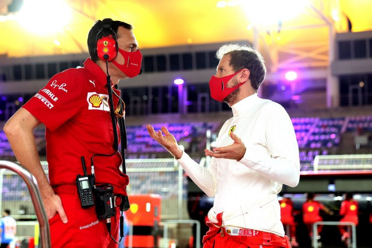 F1 | ベッテル16番手「セッティングの方向を誤り、最悪のセッションに」フェラーリ【F1第16戦金曜】