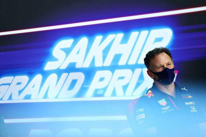 2020年F1第16戦サクヒールGP金曜会見 フェルスタッペンのレッドブルデビュー戦を振り返ったクリスチャン・ホーナー代表(レッドブル・ホンダ)