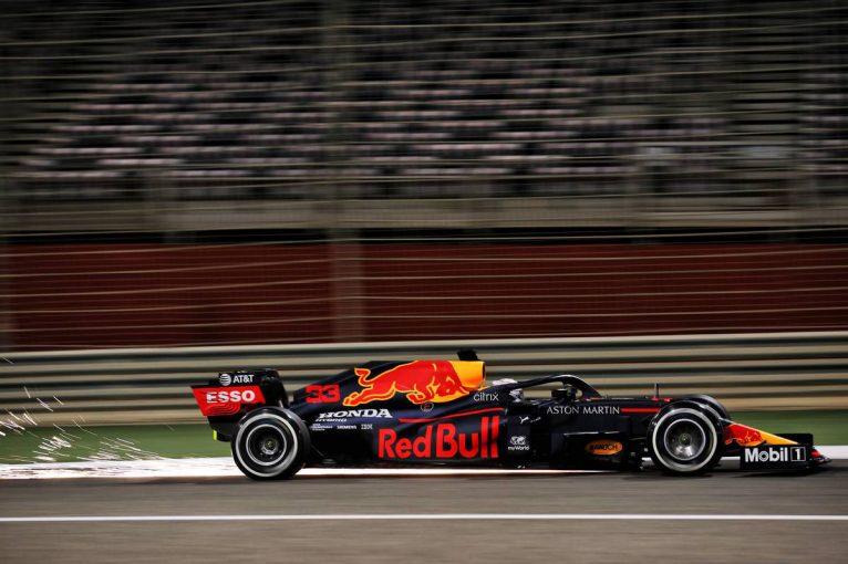 F1 | フェルスタッペンが首位、ガスリー3番手【タイム結果】F1第16戦サクヒールGPフリー走行3回目