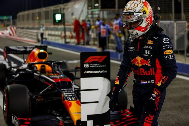 2020年F1第16戦サクヒールGP マックス・フェルスタッペン(レッドブル・ホンダ)が予選3番手を獲得