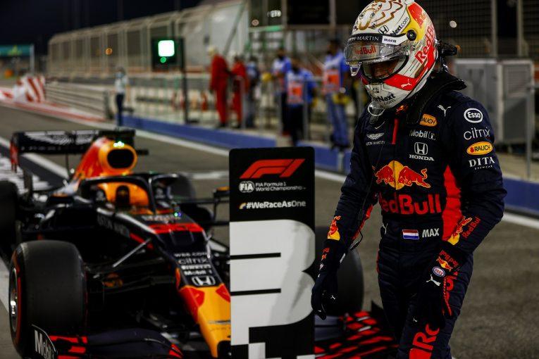 F1 | フェルスタッペン、定位置3番手も「ポールから0.1秒以内まで近づけたのは上出来」レッドブル・ホンダ【F1第16戦予選】