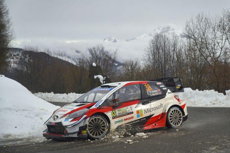 ラリー/WRC | WRCモンツァ3日目は雪山での戦い。最終日を前に選手権首位のエバンスがまさかのコースオフ
