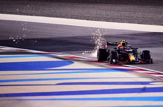 2020年F1第16戦サクヒールGP アレクサンダー・アルボン(レッドブル・ホンダ)