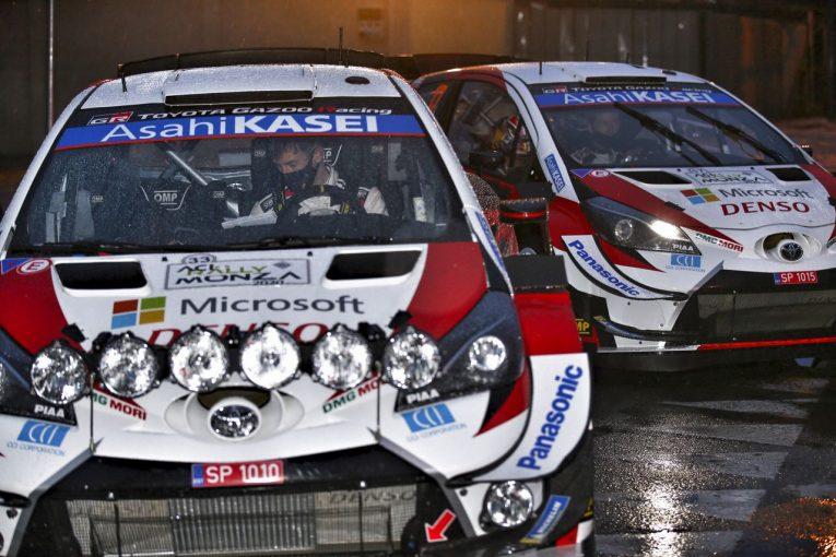 ラリー/WRC   WRCモンツァ:トヨタ、オジエが首位で最終日へ。エバンスの脱落に「言葉が出ない」とマキネン