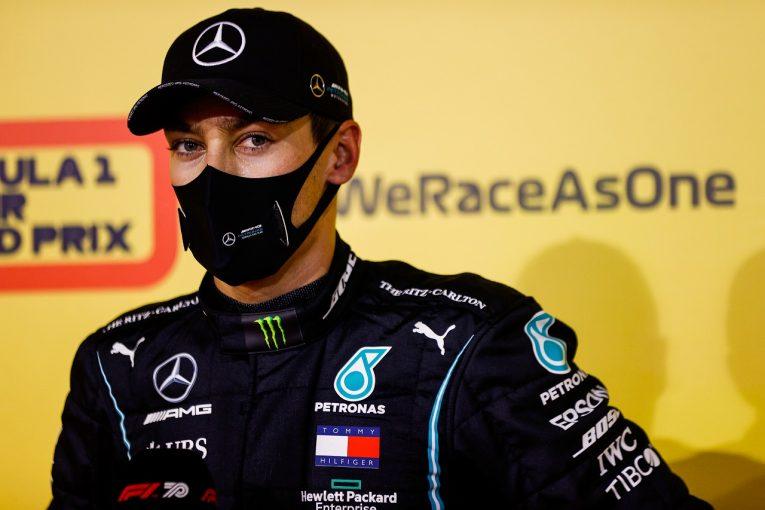 F1   メルセデスF1と長期契約のラッセル「ルイスから学び、チームの信頼に応えたい」ウイリアムズにも感謝の言葉