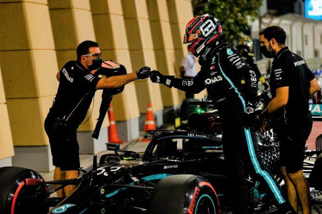 2020年F1第16戦サクヒールGP ジョージ・ラッセル(メルセデス)が予選2番手を獲得