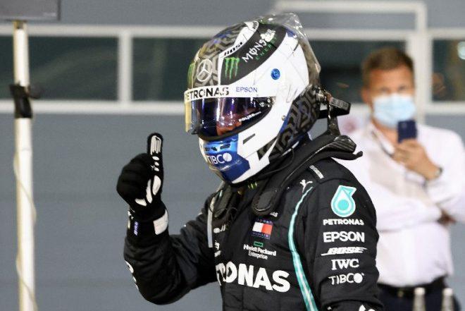 2020年F1第16戦サクヒールGP バルテリ・ボッタス(メルセデス)がポールポジションを獲得