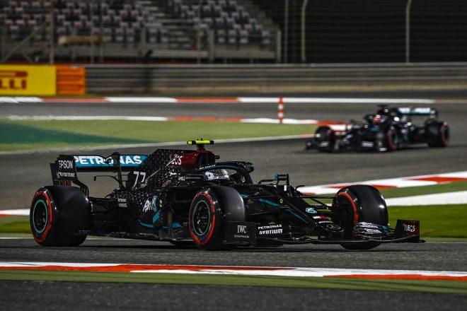 2020年F1第16戦サクヒールGP バルテリ・ボッタス(メルセデス)
