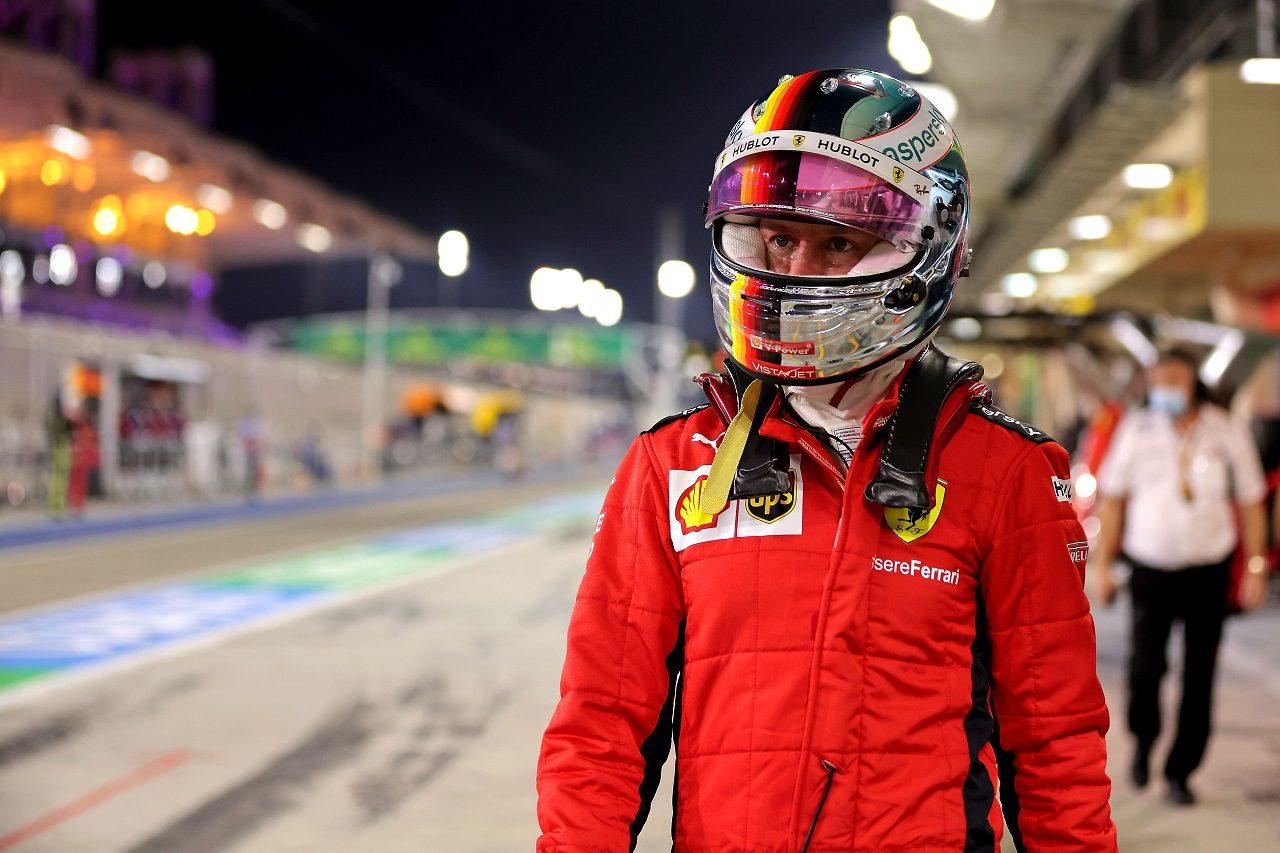 2020年F1第16戦サクヒールGP セバスチャン・ベッテル(フェラーリ)