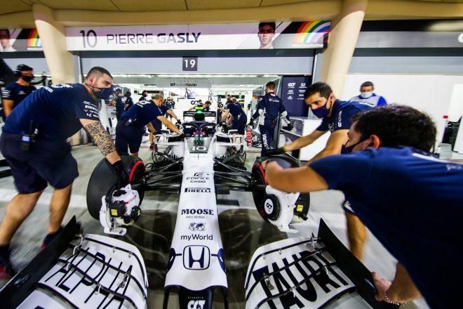 2020年F1第16戦サクヒールGP ピエール・ガスリー(アルファタウリ・ホンダ)