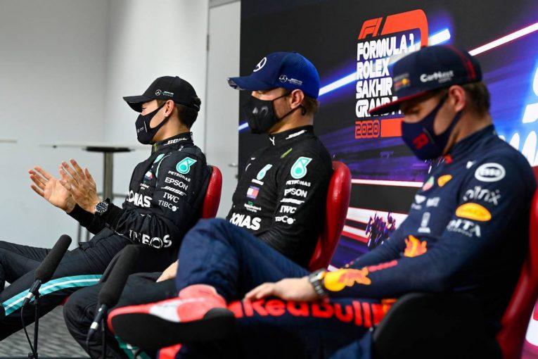 F1 | 【気になる一言】待ちぼうけを食らったボッタスとフェルスタッペンがQ&Aに割り込み。コーヒーに物申す