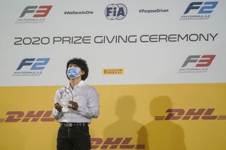海外レース他   【SNSピックアップ】角田裕毅のFIA-F2シーズンハイライト。新人賞受賞に「ありがとう、アントワーヌ」