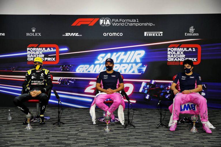 F1 | 【ポイントランキング】F1第16戦サクヒールGP終了時点