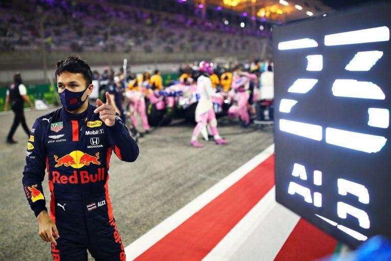 F1 | アルボン6位「オーバーテイクが困難なセッティングで苦労した」レッドブル・ホンダ【F1第16戦決勝】