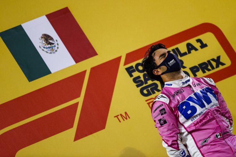 F1 | デビュー10年目のペレスが初優勝「表彰台でメキシコ国旗を眺めたことを生涯忘れない」レーシングポイント【F1第16戦】