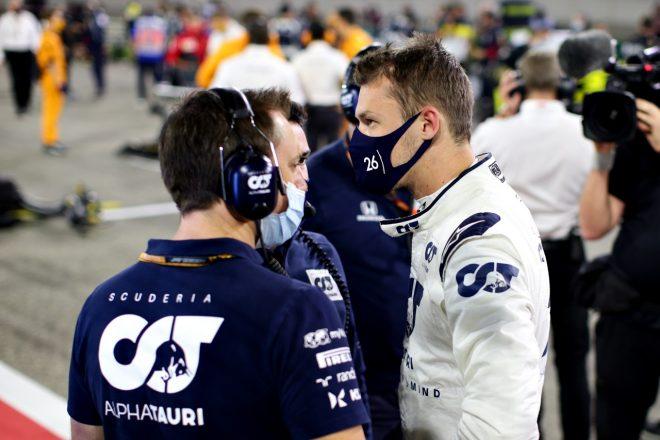 2020年F1第16戦サクヒールGP ダニール・クビアト(アルファタウリ・ホンダ)