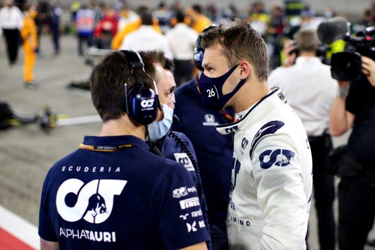 F1   クビアト7位「今シーズンベストの週末。自分のパフォーマンスに大満足」アルファタウリ・ホンダ【F1第16戦決勝】