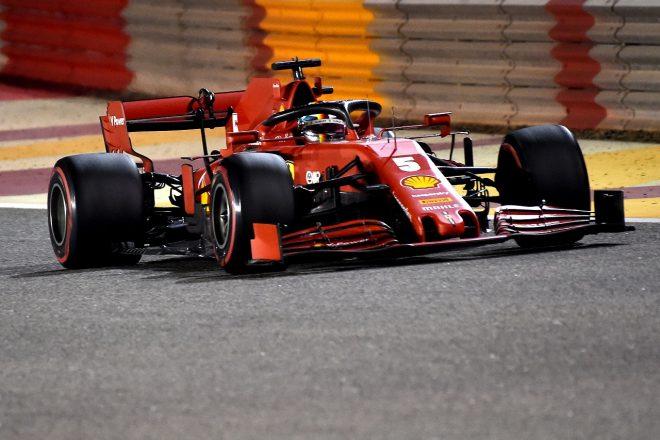 2020年F1第16戦サクヒールGPセバスチャン・ベッテルのフェラーリSF1000