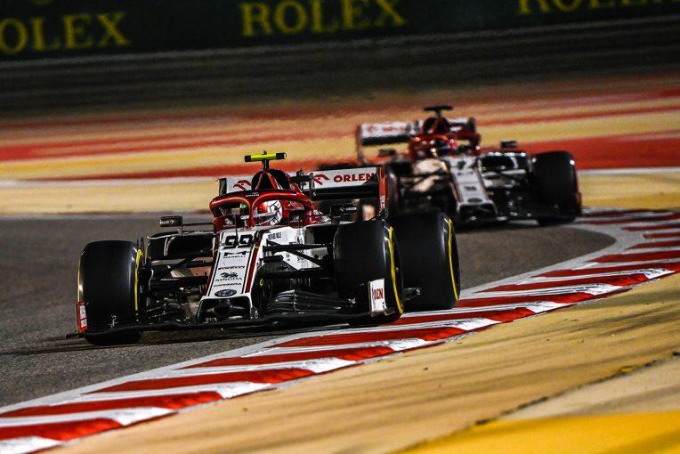 F1 | ジョビナッツィ「僕らが達成しうる最善の成績。追い抜きが難しく、SCも活かせず」:アルファロメオ F1第16戦決勝