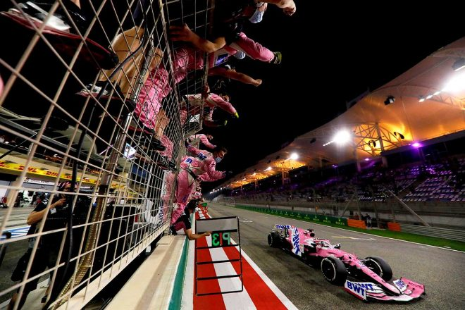 2020年F1第16戦サクヒールGP セルジオ・ペレス(レーシングポイント)
