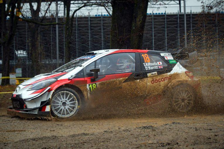 """ラリー/WRC   WRCモンツァ:トヨタ育成の勝田貴元、持ち前のスピードで""""パワーステージ""""制す"""