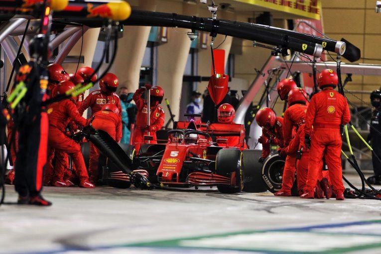 F1 | ベッテル、フェラーリF1のピットストップの遅さを問題視「機器の全面見直しが必要」
