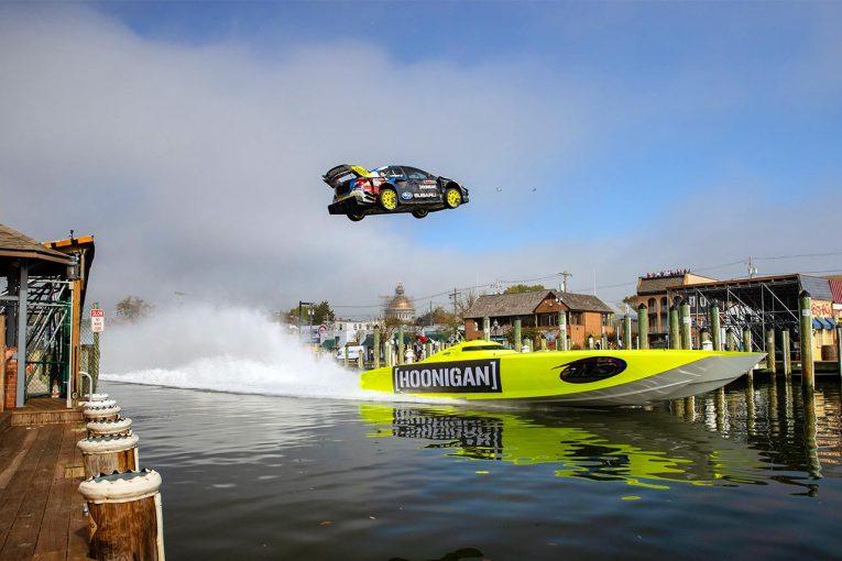 ラリー/WRC | 『ジムカーナ』シリーズ最新作公開! 今回はトラビス・パストラーナが超絶走行を披露