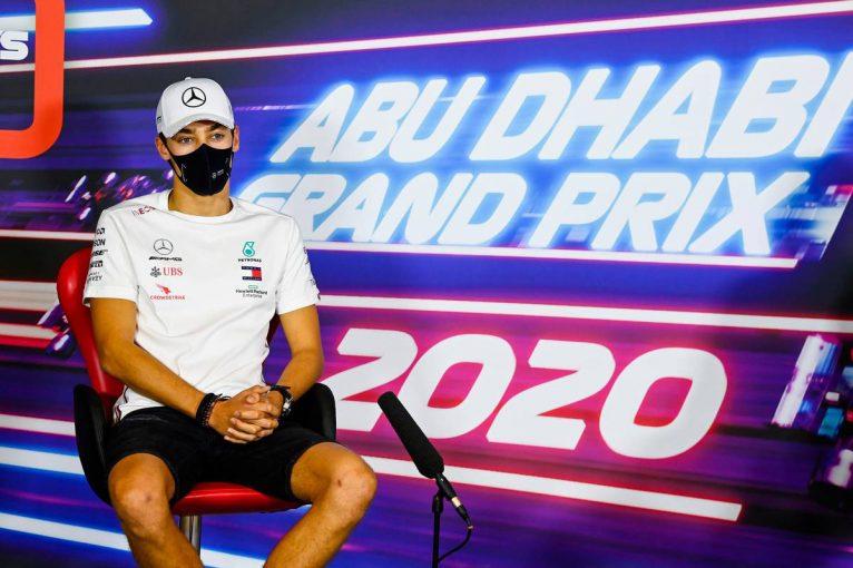 F1 | F1アブダビGP木曜会見(2):バーレーンでの活躍を評価されたラッセル、2021年の移籍を否定