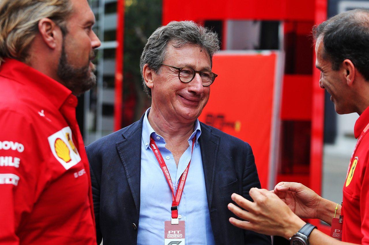 フェラーリ社CEOを務めたルイス・カミッレーリ