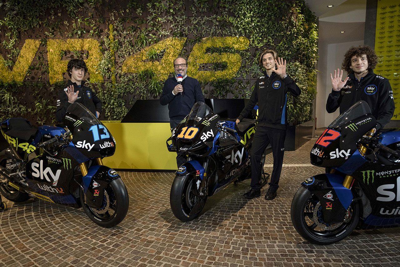 MotoGP:ルカ・マリーニが駆るドゥカティ・デスモセディチGPのカラーリングがお披露目