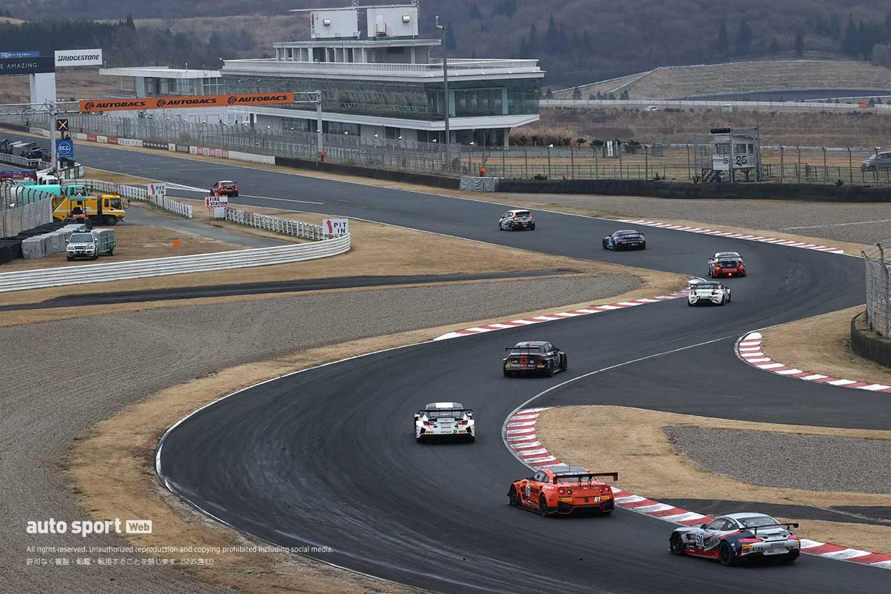 第5戦『TKU スーパー耐久レース in オートポリス』金曜日の専有走行の様子