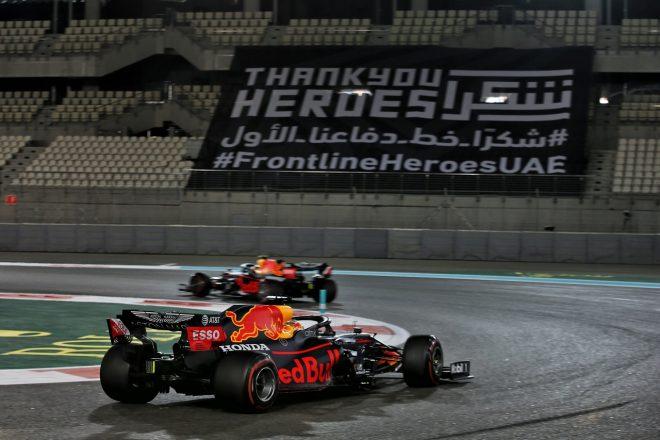 2020年F1第17戦アブダビGP マックス・フェルスタッペン(レッドブル・ホンダ)
