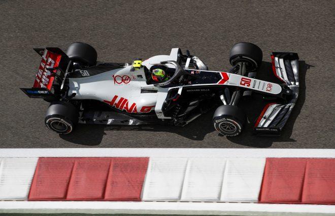 2020年F1第17戦アブダビGP ミック・シューマッハーのハースVF-20