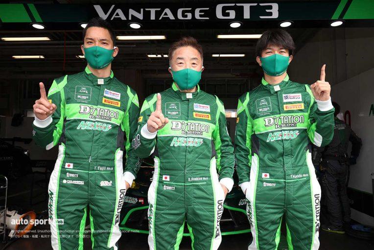 国内レース他 | D'station Vantage GT3が今季4度目のポール獲得【S耐第5戦オートポリス/公式予選結果】