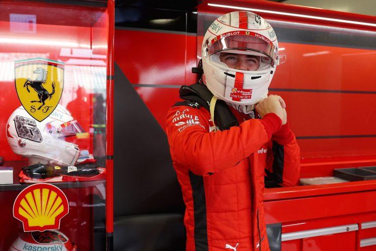 F1 | ルクレール「すべてがうまくいけば予選でトップ6に入れる」フェラーリ【F1第17戦金曜】