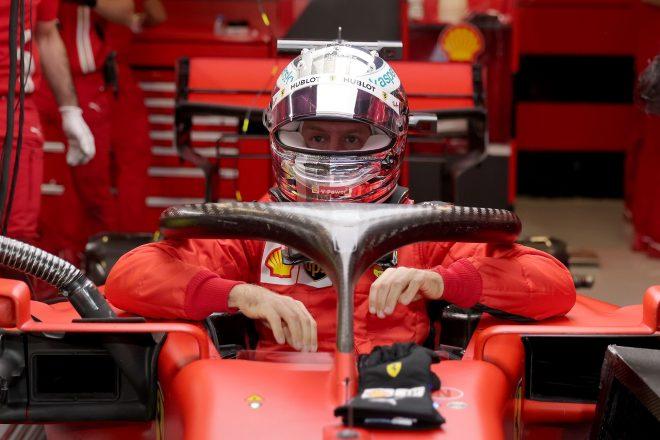 2020年F1第17戦アブダビGP セバスチャン・ベッテル(フェラーリ)