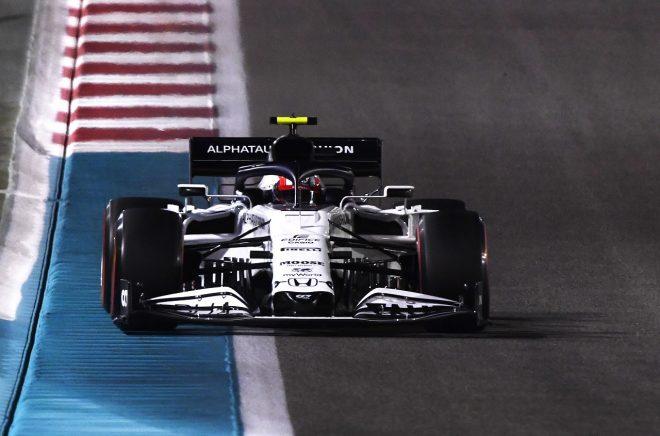 2020年F1第17戦アブダビGP ピエール・ガスリーのアルファタウリAT01・ホンダ