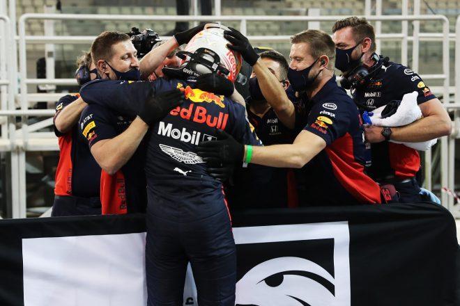 2020年F1第17戦アブダビGP マックス・フェルスタッペン(レッドブル・ホンダ)がポールポジションを獲得